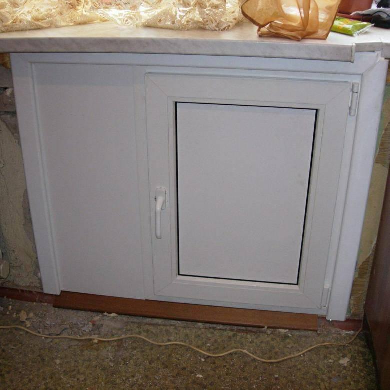 Холодильник под окном: правила обустройства в хрущевке