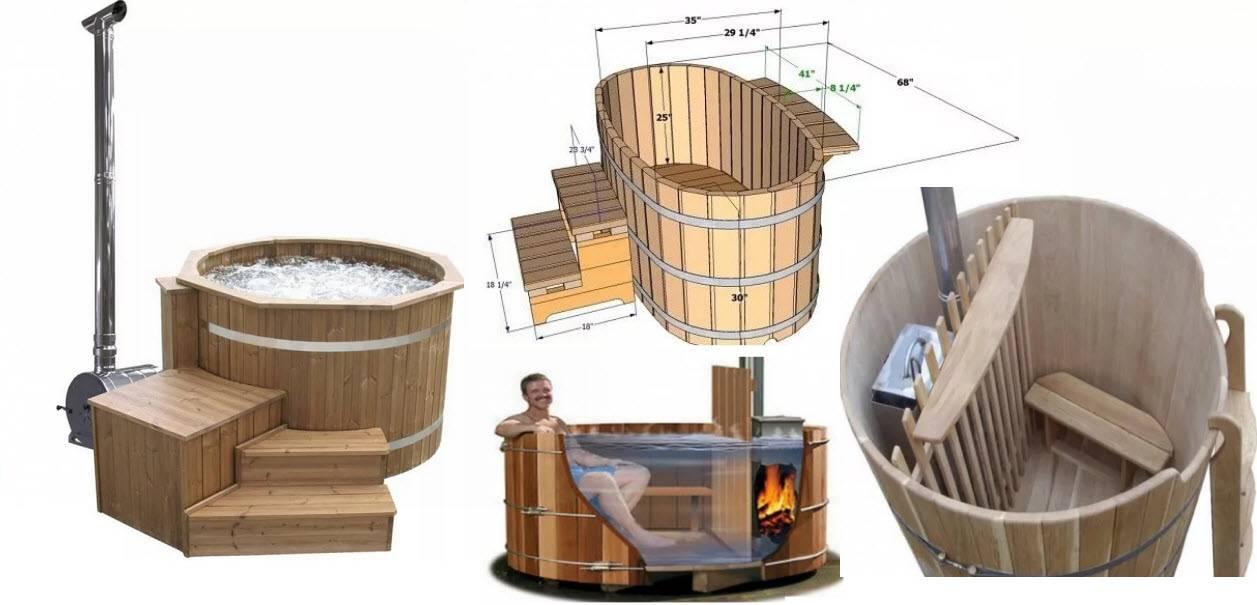 Купель для бани: особенности выбора и монтажа своими руками