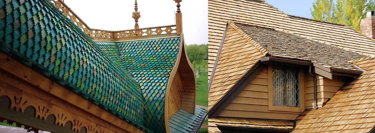 Крыша из дранки – технология подготовки материала и монтажа