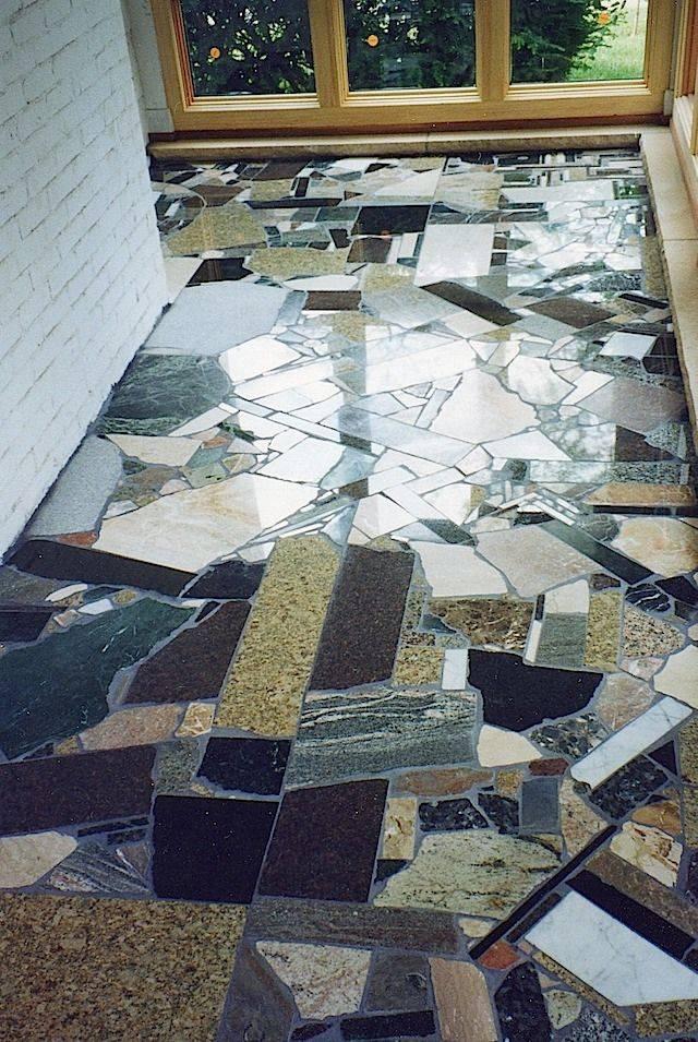 Мозаика в интерьере квартиры и дома