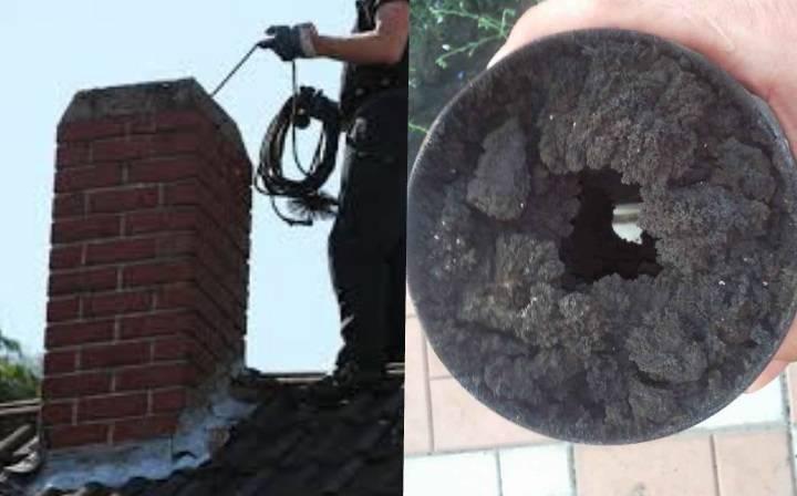 Как почистить дымоход в печи частного дома – способы чистки