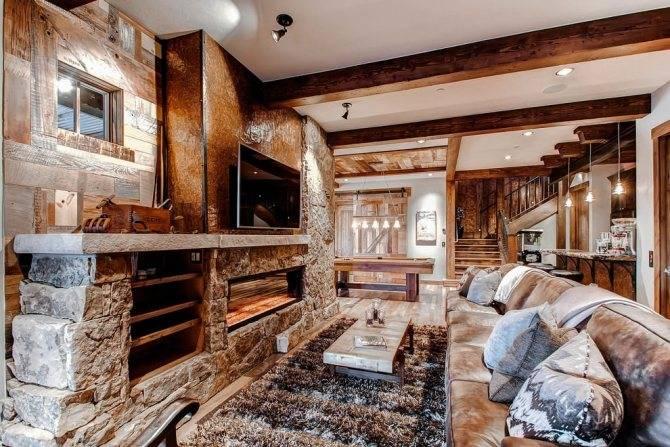 Интерьер дома в стиле шале: 210+ (фото) современного дизайна