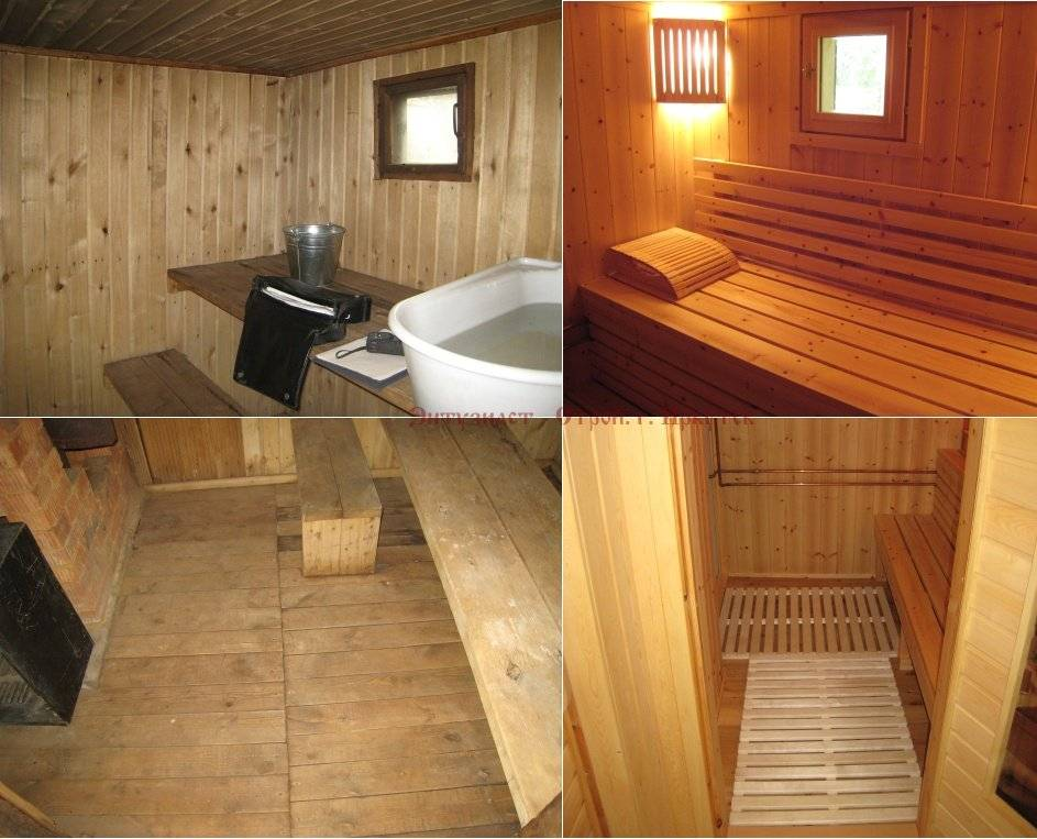 Внутренняя отделка бани своими руками - строительство и ремонт