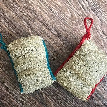 Как сделать мочалку из люфы и выбрать готовый вариант