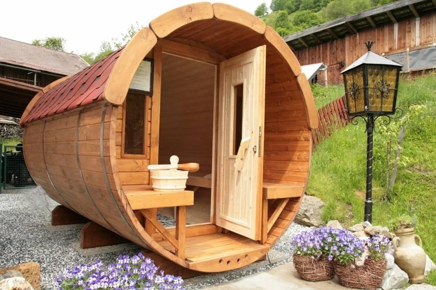 Проект маленькой бани - строим баню или сауну