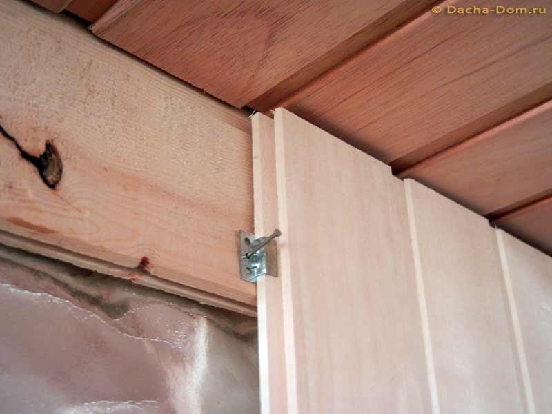 Разошлась вагонка на потолке: что делать, если рассохлась и как выровнять вспученную