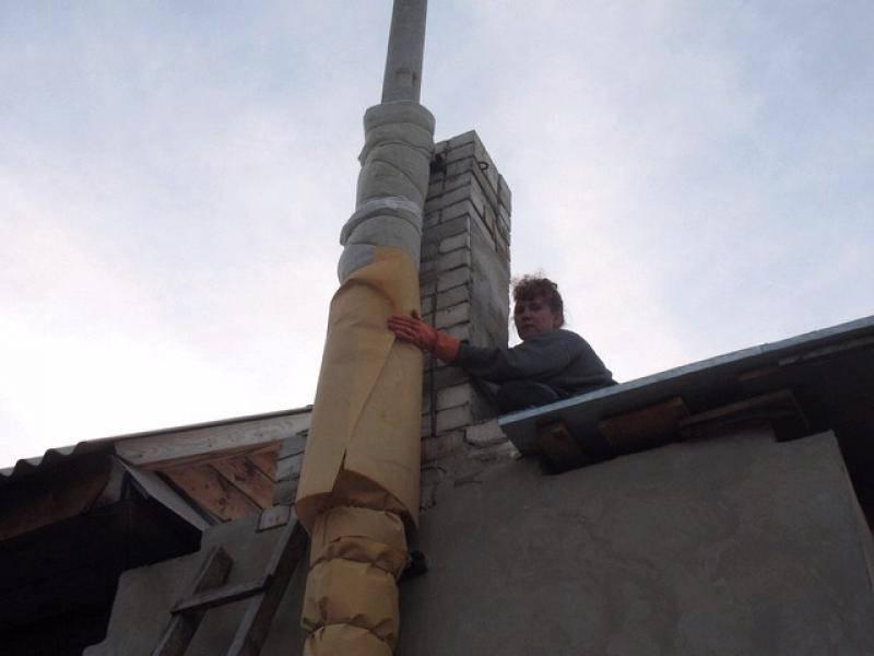 Правила применения асбестовой трубы для дымохода