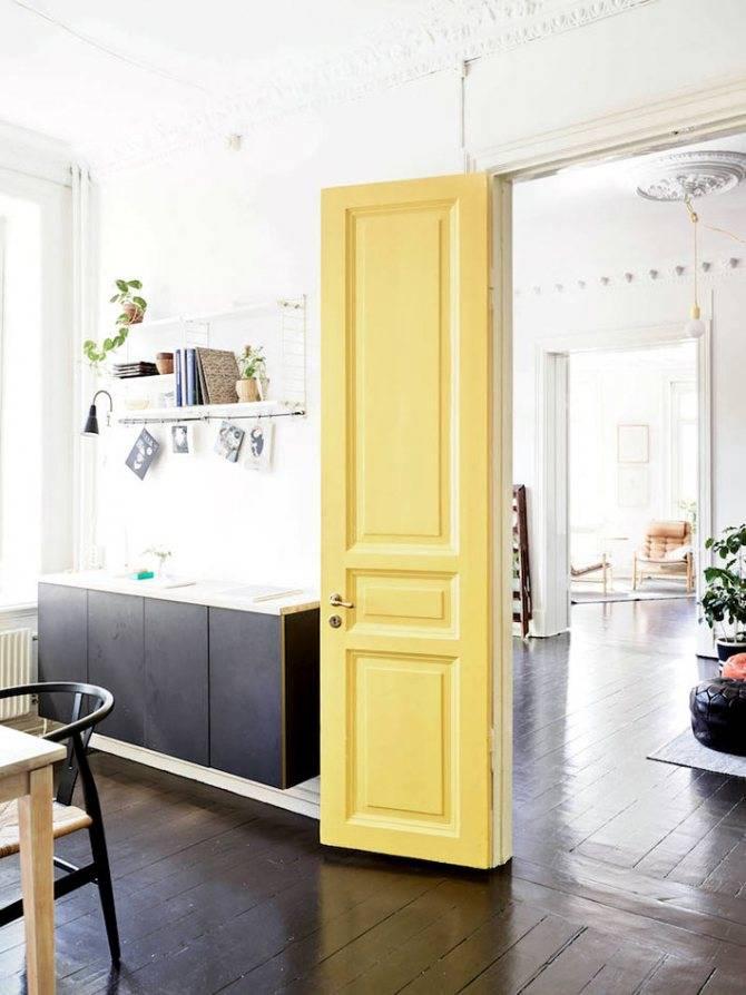 Светлые двери в интерьере квартиры: 60 фото, красивые идеи дизайна
