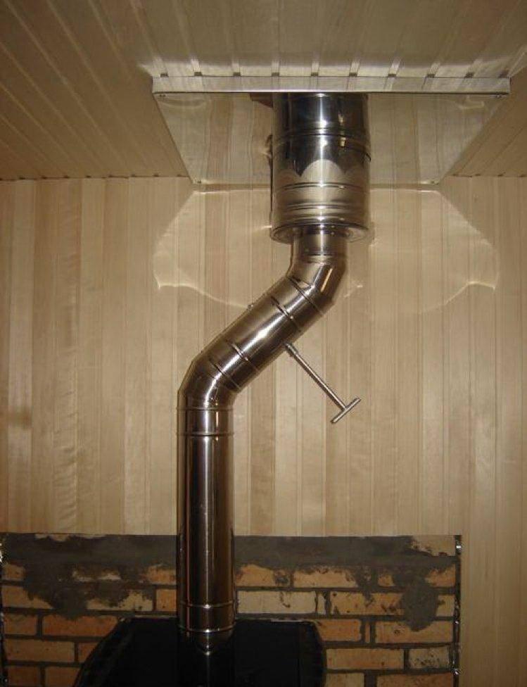 Устройство дымохода в бане: какую конструкцию выбрать