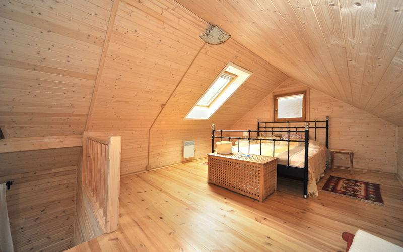 Как построить баню с мансардой: проекты для строительства своими руками