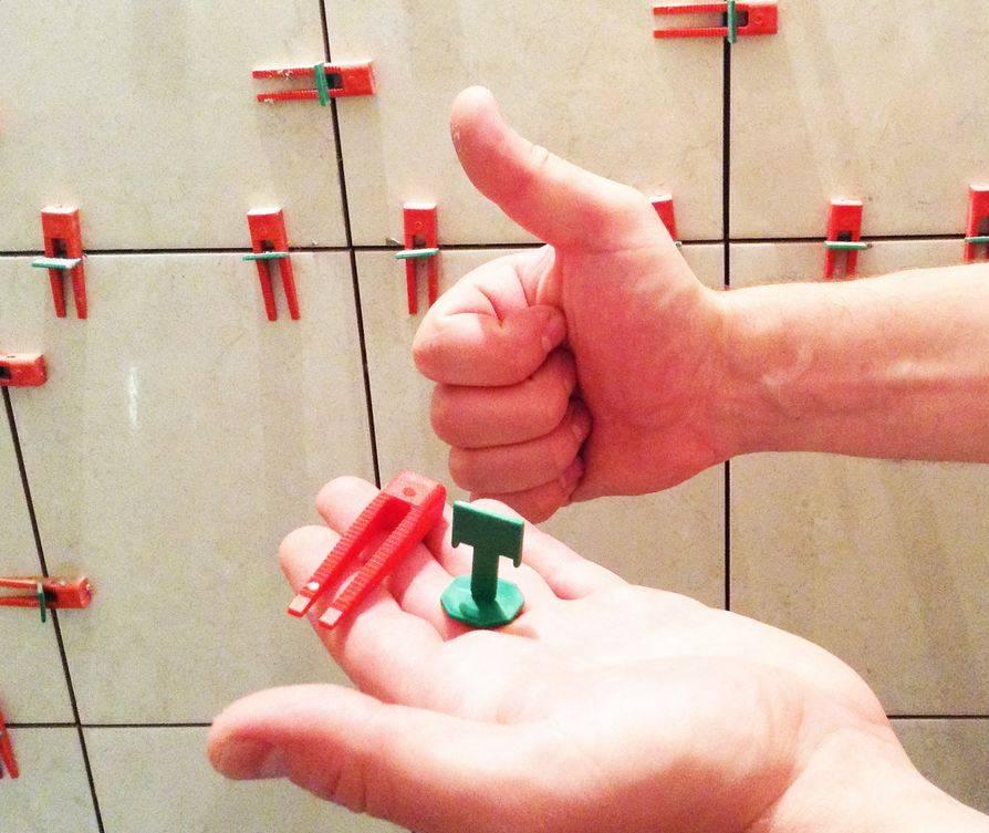 Крестики для плитки: советы мастеров по выбору размера и материала