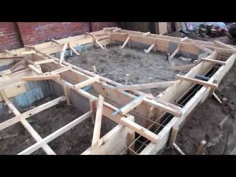 Как залить правильно фундамент под баню: советы и рекомендации