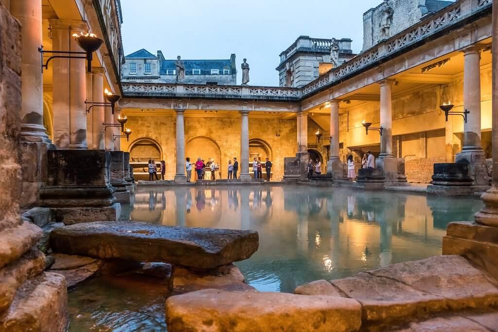 Римские бани википедия