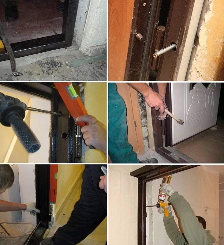 Металлическая дверь своими руками в 7 этапов