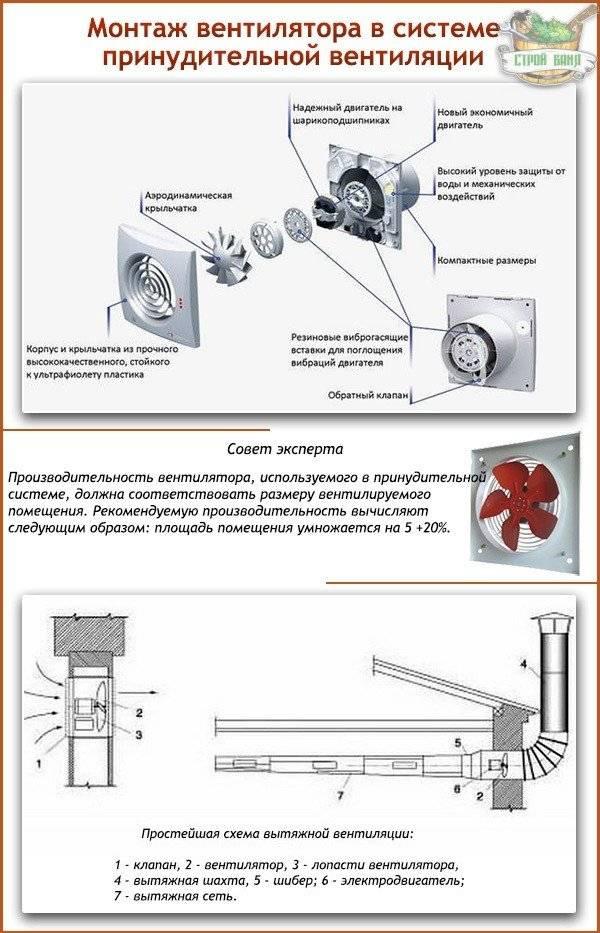 Принудительная вентиляция в бане: способы организации и монтажа хорошей вытяжки