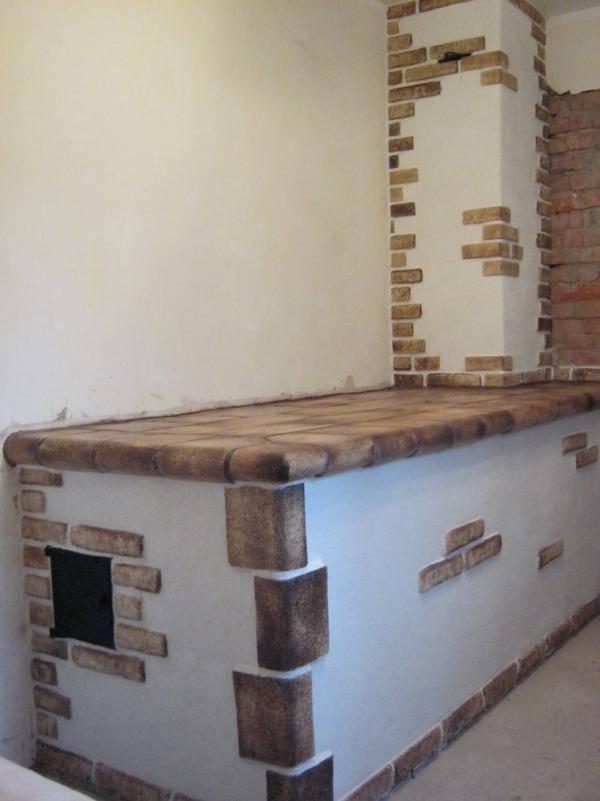 Чем отделать стену возле печки в бане - клуб мастеров