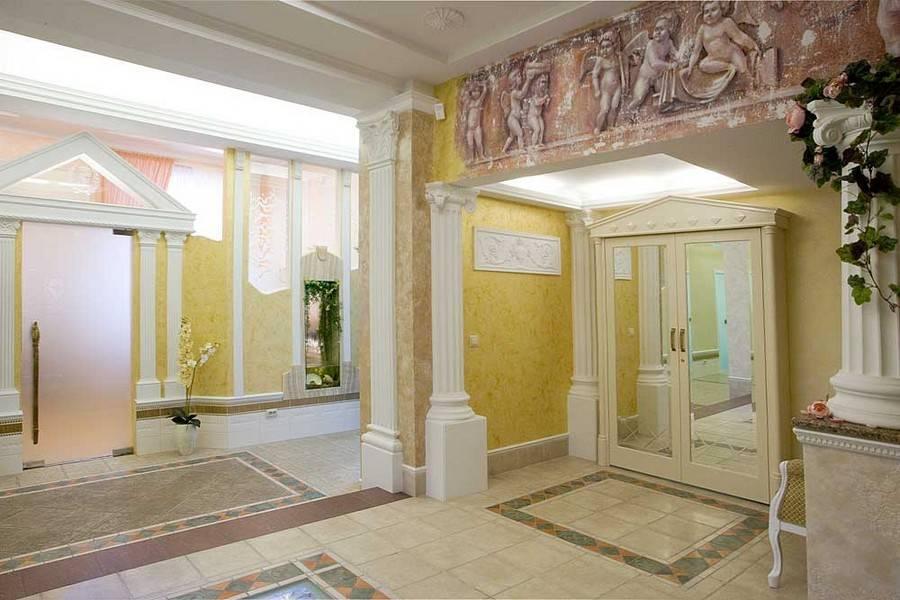 Греческий стиль в интерьере: восхищающая античность и современный минимализм   дизайн интерьера