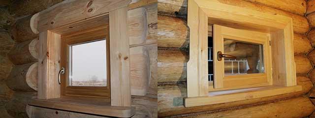 Нужны ли окна в бане - строим баню или сауну