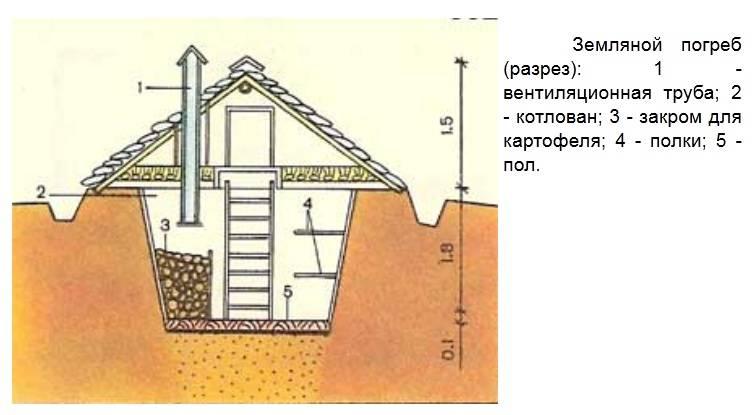 Овощная яма: строительство своими руками, правильное обустройство пола и потолка, гидроизоляция и вентиляция