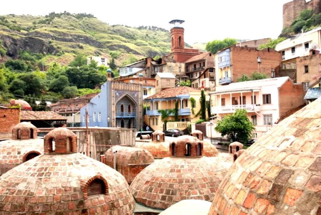 Тбилисские серные бани - паримся по-грузински