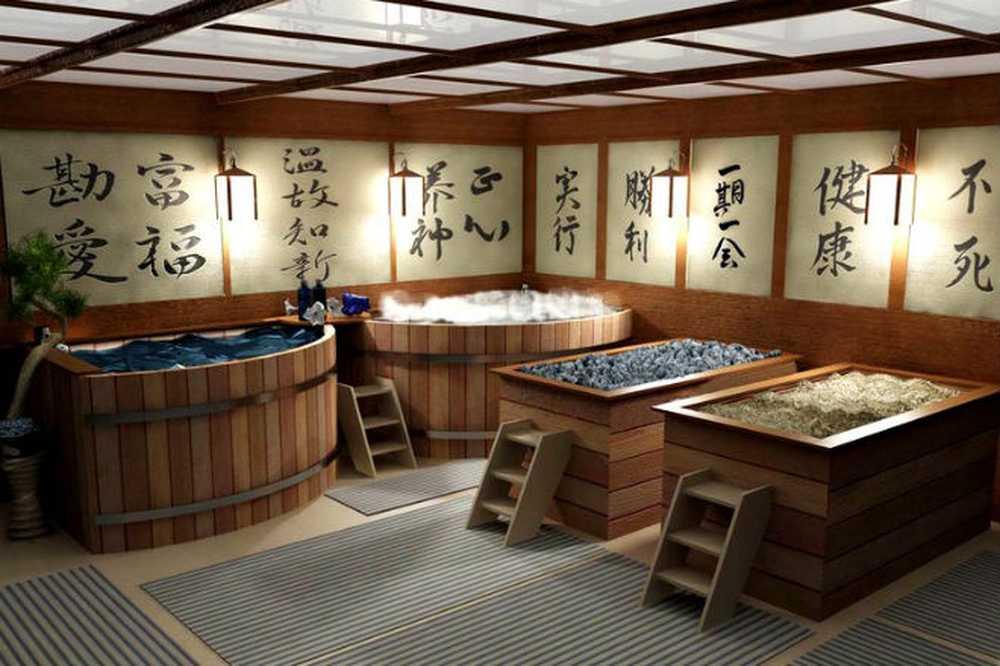 Специфика китайской бани