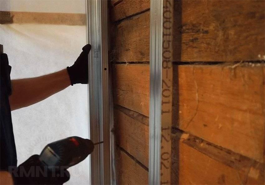 Гипсокартон на стены без каркаса: на штукатурку и пену