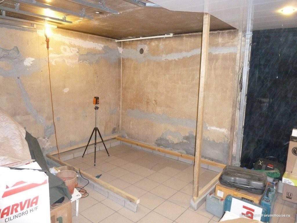 Баня в подвале дома: преимущества и особенности. как построить баню или сауну в подвале дома своими руками? | построить баню ру