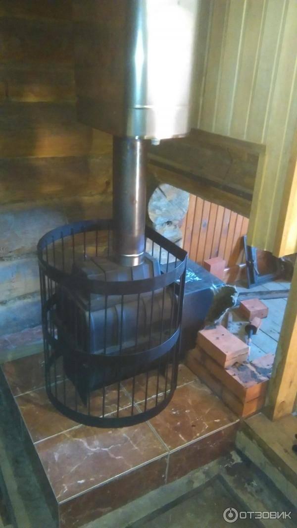 Печь для бани с теплообменником для воды - всё об отоплении и кондиционировании