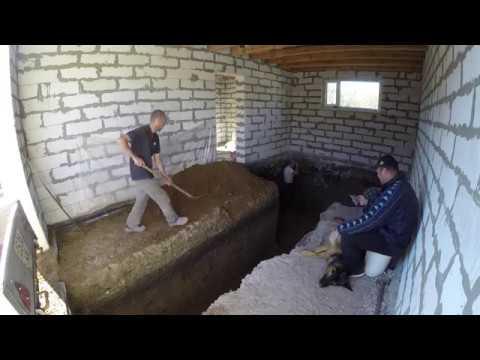 Организация сауны в подвале
