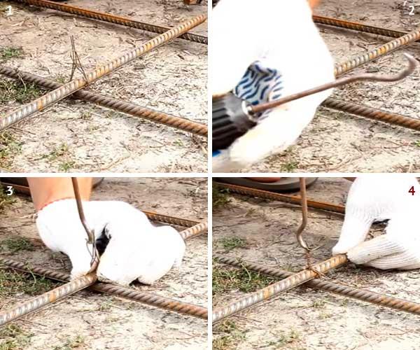 Как вязать арматуру — подробное описание схем и способов - строительство и ремонт
