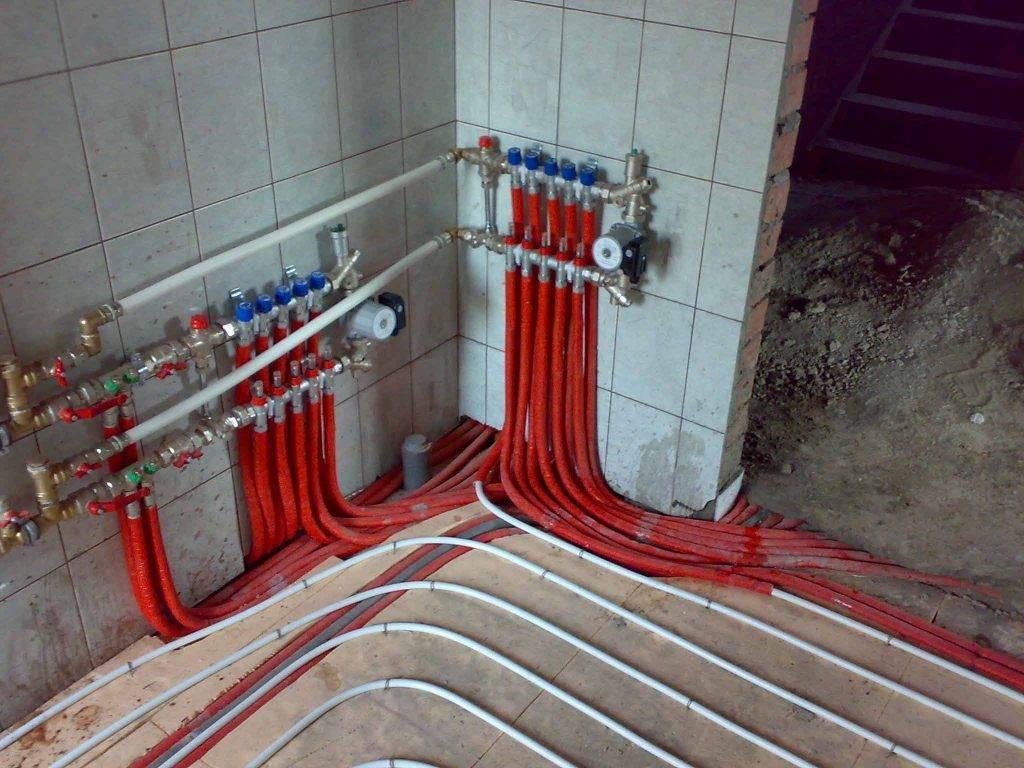 Выбираем трубы для водяного теплого пола