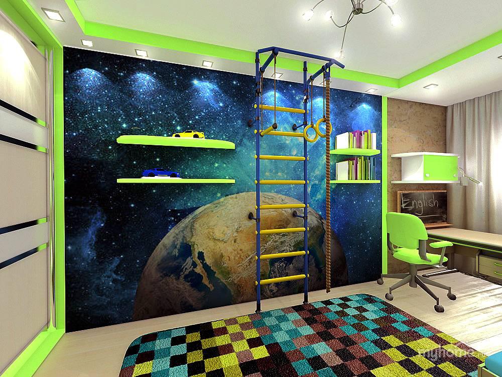 Оригинальные варианты космических фотообоев для декорирования стен