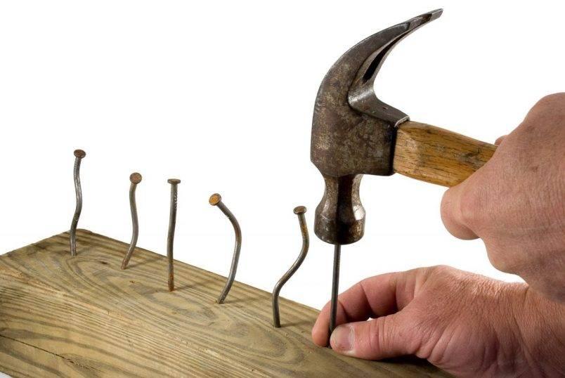 Как забить гвоздь: секреты мастерства