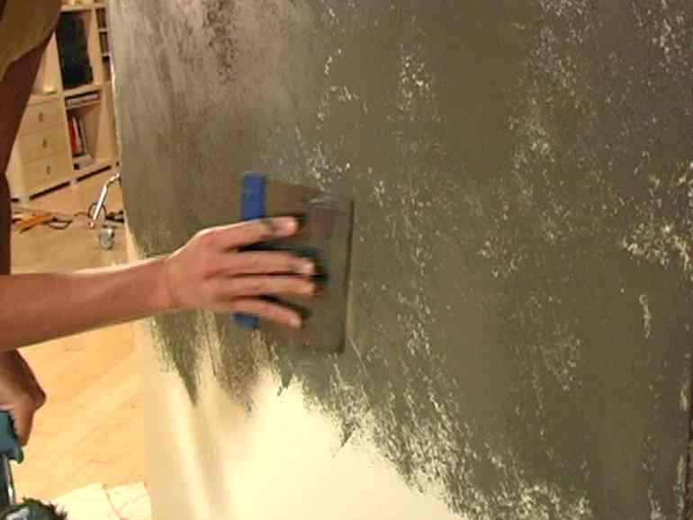 Шпаклёвка под мрамор своими руками: пошаговая инструкция