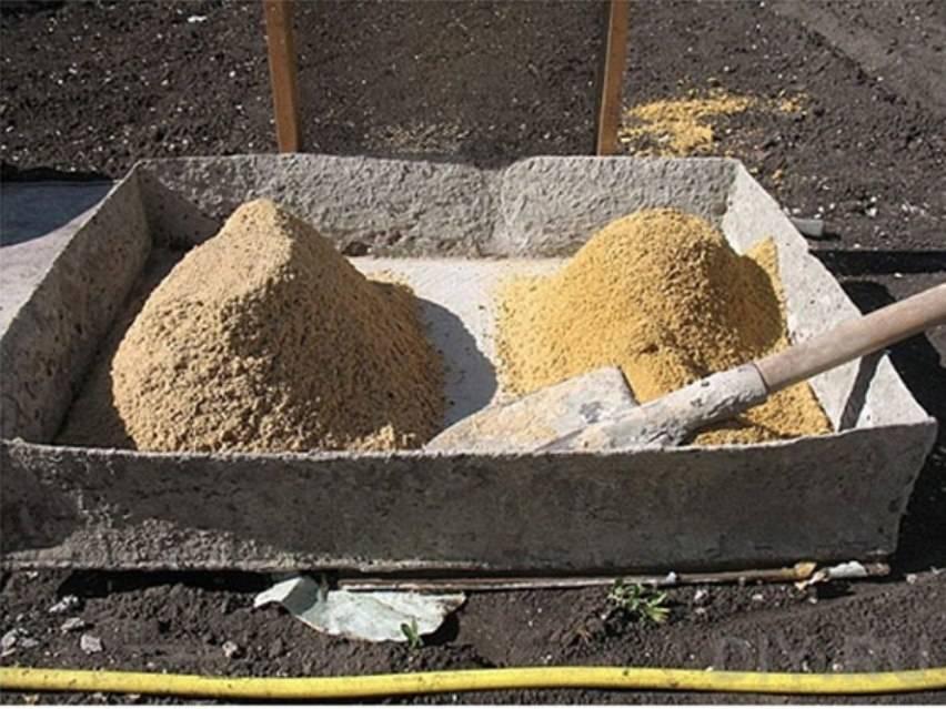 Какой песок использовать для фундамента?