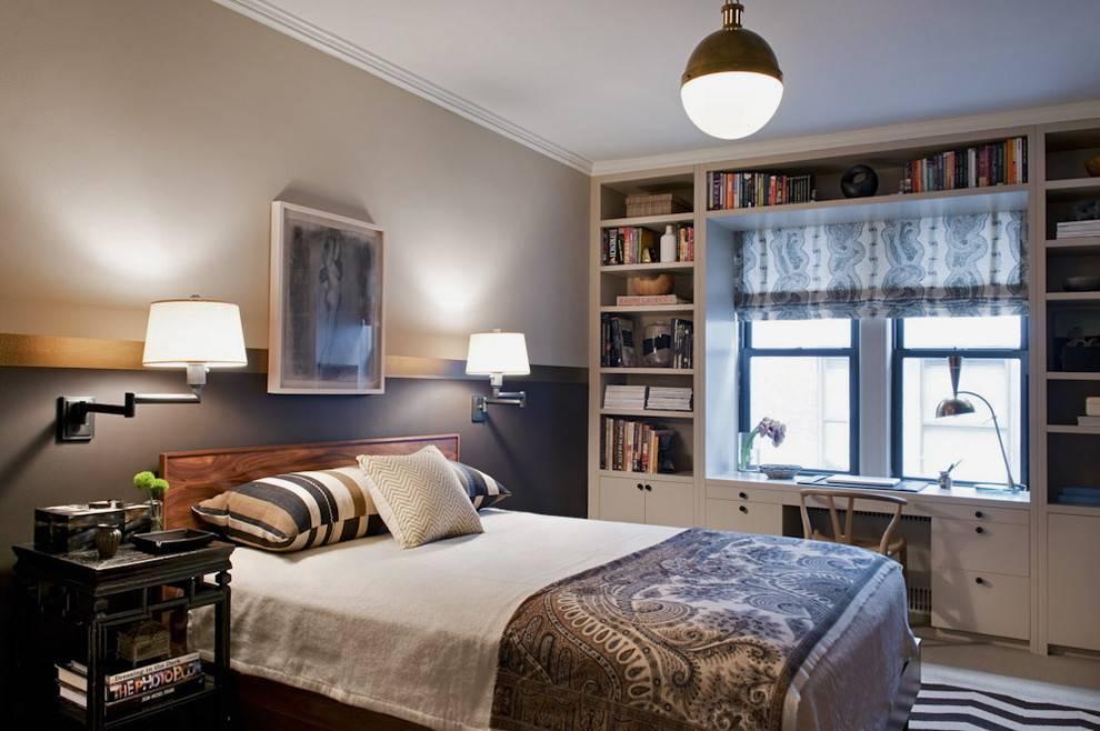Дизайн интерьера маленькой спальни — 5 полезных советов для оформления и 50 фото