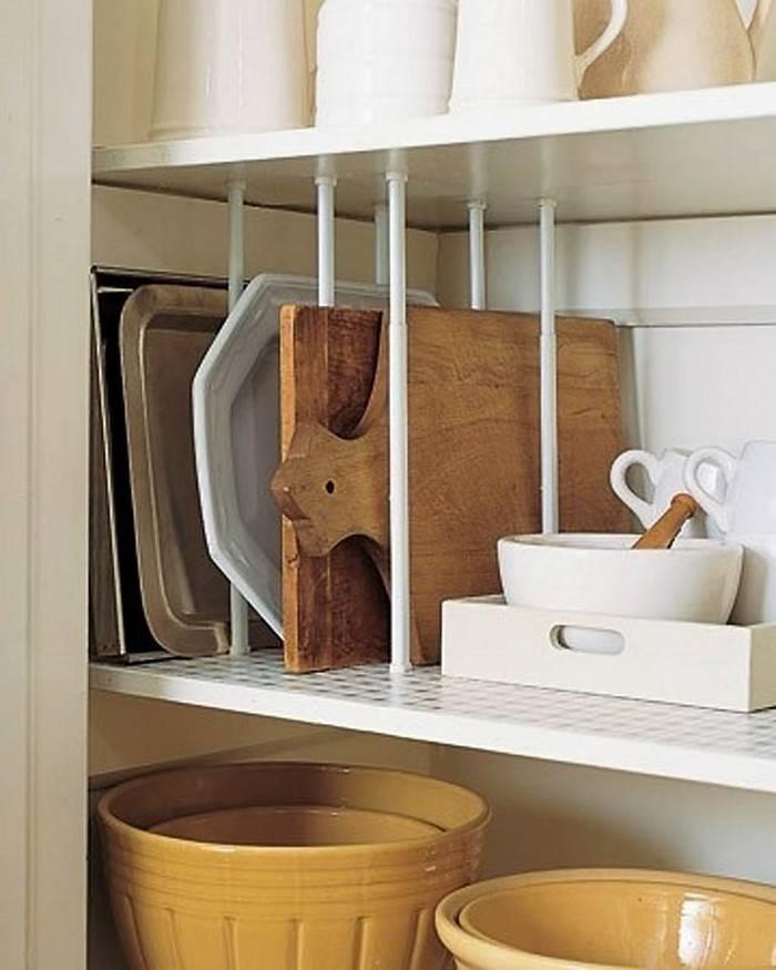 4 эффективных приёма для экономии пространства на кухне