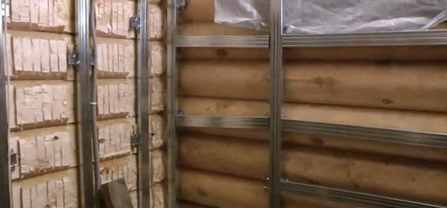 Как обшить гипсокартоном стены в деревянном доме