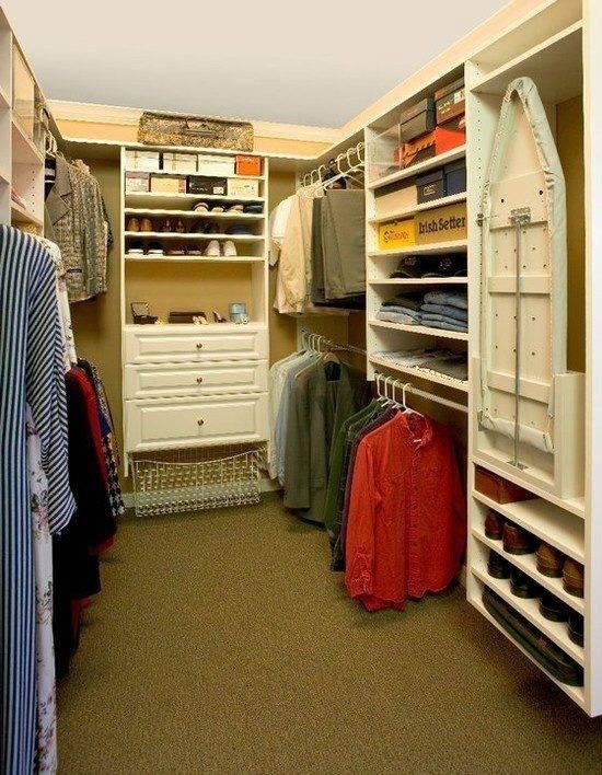 Обустройство и дизайн гардеробной, примеры, фото – rehouz