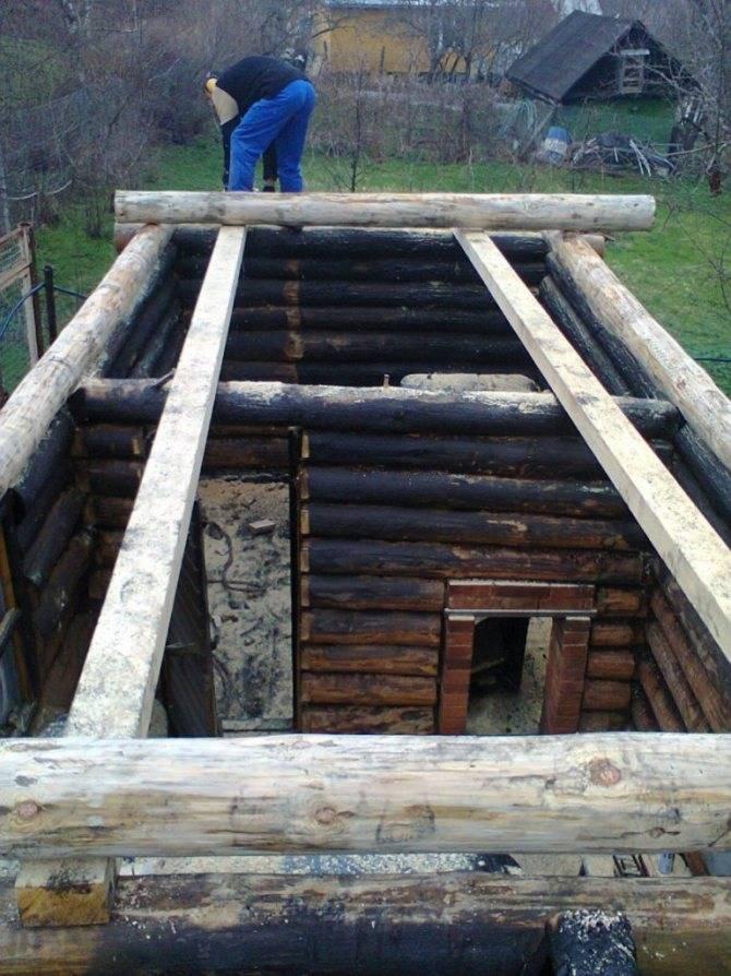 Построить баню из бруса своими руками: как выбрать материал для сруба, основные этапы строительства, способы отделки