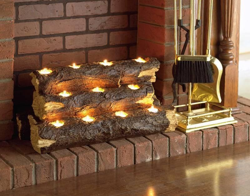 Фальш-камин в вашем доме своими руками