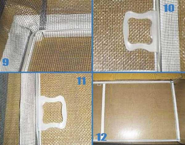 Ремонт креплений и москитной сетки