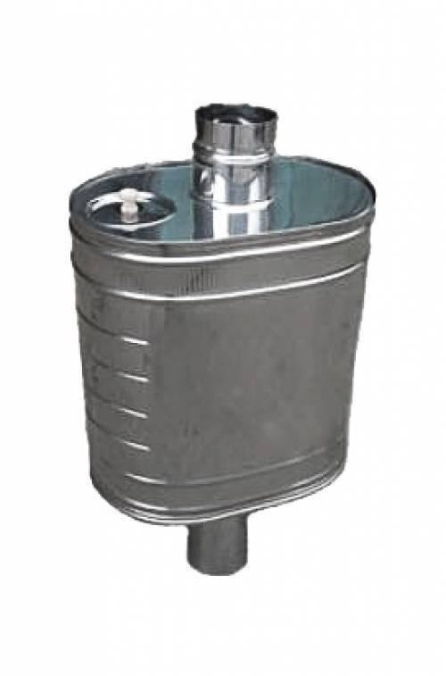 Как выбрать и установить правильный бак на трубу для бани?