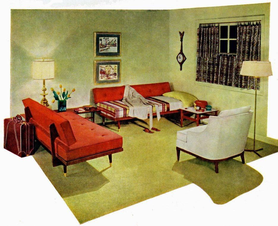 Oldschool: советская мебель в современном интерьере