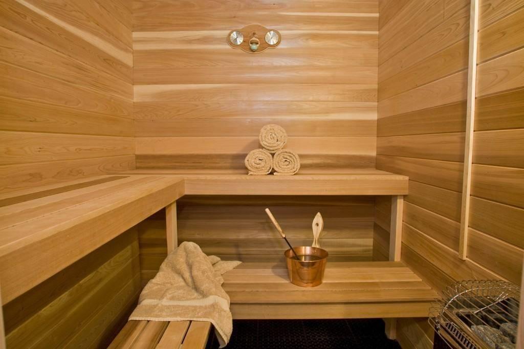 Отделка кирпичной бани внутри: материалы и технология монтажа