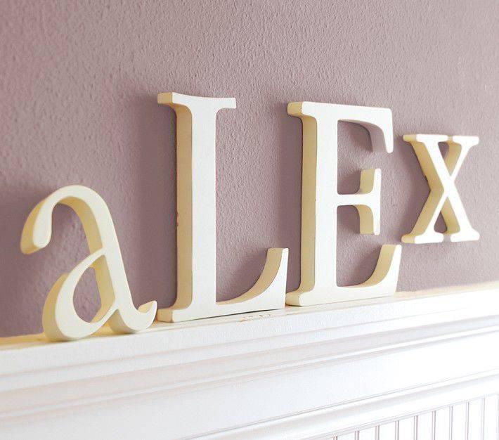 Буквы на стену в домашнем декоре: для чего нужны и как выбрать