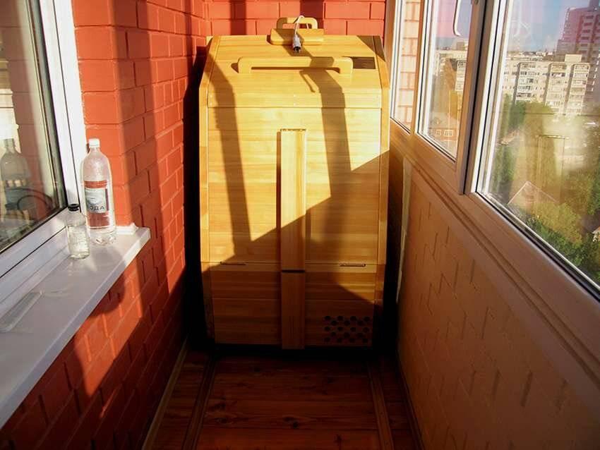 Как сделать сауну на балконе – этапы обустройства