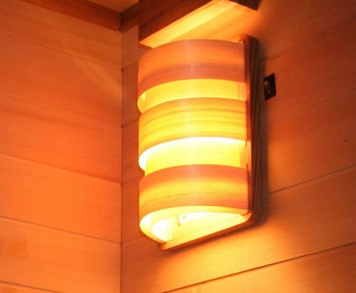 Как выбрать светильники для бани