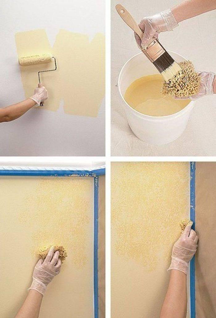 50 фото с оригинальными идеями покраски стен водоэмульсионной краской для современного дизайна