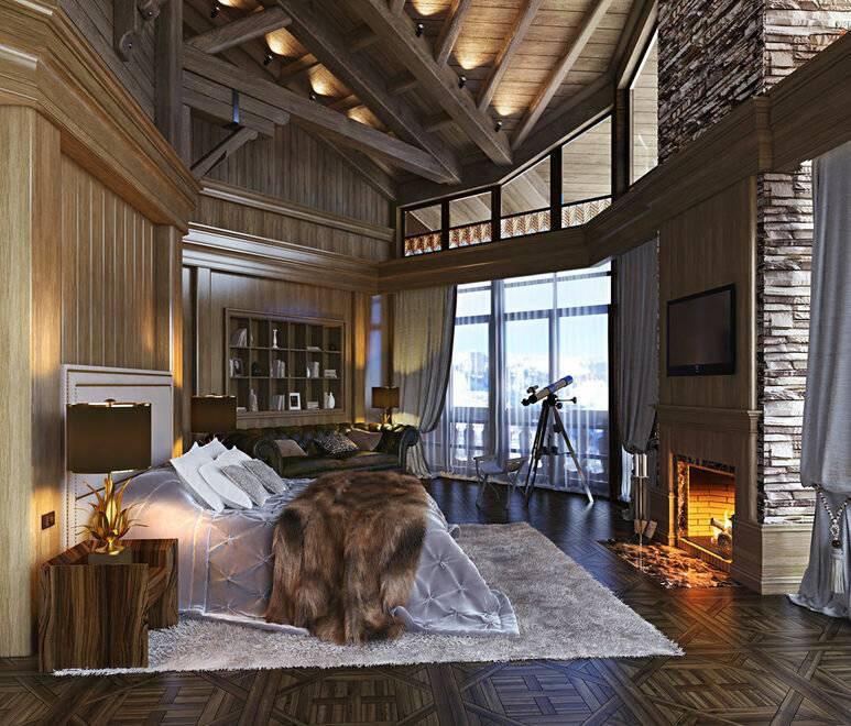 Дизайн дома в стиле шале внутри и снаружи: проекты, оформление интерьера и планировка в загородном доме, фото